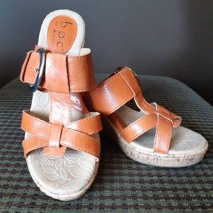 Boc Leather Sandals